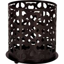 Candleholders 100mm Brown x4  *