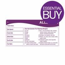 Allergen Labels 60x95mm (x500)