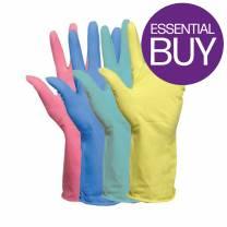 Household Glove Yellow Medium