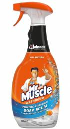 Mr Muscle Bathroom Cleaner (6x750ml)