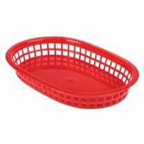 Fastfood Basket Red 27.5x17.5cm  1x6