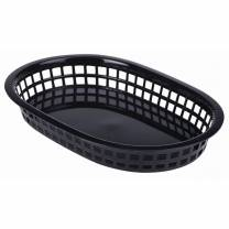 Fast Food Basket Black 27.5x17.5cm (x6)