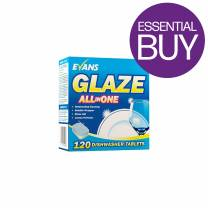 Glaze All in One Dishwash Tablets (x120)