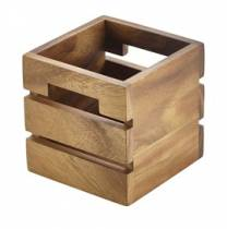 Acacia Box Riser 12x12x12cm