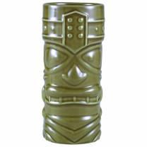 Green Tiki Mug 40cl/14oz (x4)