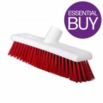 Washable Brush 12in/30cm Soft Red