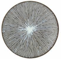Allium Sea Plate 21cm (x6)