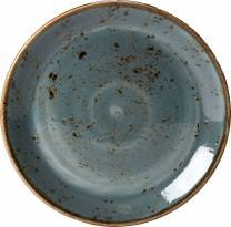Craft Blue Coupe Plate 28cm (x12)