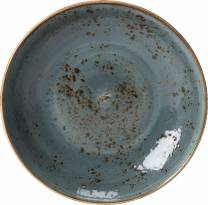 Craft Blue Coupe Bowl 21.5cm (x24)
