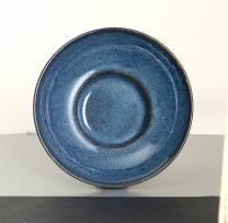 Indigo Coupe Rimmed Bowl 24x6.5cm (x6)