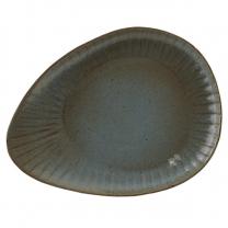 Fern Reactive Oval Plate 34cm (x4)