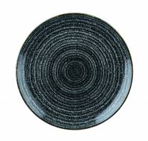 Studio Prints Charcoal Black Coupe Plate 26cm (x12)
