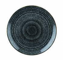Studio Prints Charcoal Black Coupe Plate 21.7cm (x12)