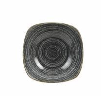 Studio Prints Charcoal Black Square Bowl 20.7cm/93.8cl (x12)