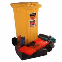 Wheeled Oil Only Spill Kit 90L