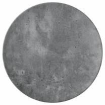 Flat Coupe Plate Concrete 30cm (x6)