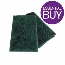 Contract Green Scouring Pad (x10)