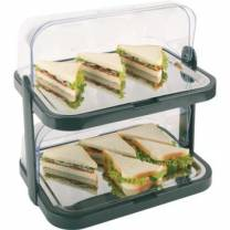 2 Tier Chilled Display Set (Plastic with Steel Trays)