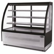 Atosa Curved Glass Three Shelf Deli Counter 900x750x1350 290L