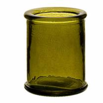 Authentico Candleholder Green 3in/8cm (x12)
