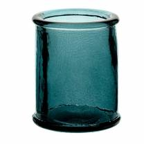 Authentico Candleholder Blue 3in/8cm (x12)
