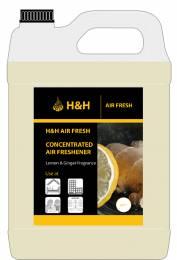 H&H Air Fresh Lemon & Ginger Concentrate (1:10)  5L