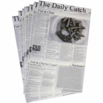 """Daily Catch Greaseproof Sheets 27x42cm/10x16"""" (x500)"""