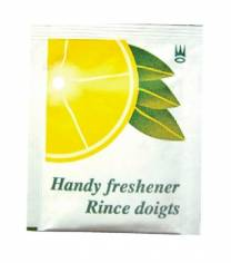 Compressed Water Expanding Lemon Hand Towel (x500)