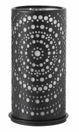 Billy Black Metal Candle Holder 140x75mm (x4)