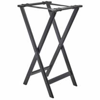 GenWare Black Wooden Tray Stand