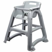 GenWare Grey PP Stackable High Chair