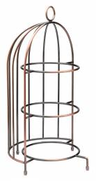 Birdcage Plate Stand 17.5x8.75in/44x22cm