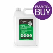 Food Safe Anti-Bacterial Cleaner/Sanitiser C12 (5L)