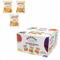 Border Luxury Mini Twin Pack Biscuits 3 Variety (x100)